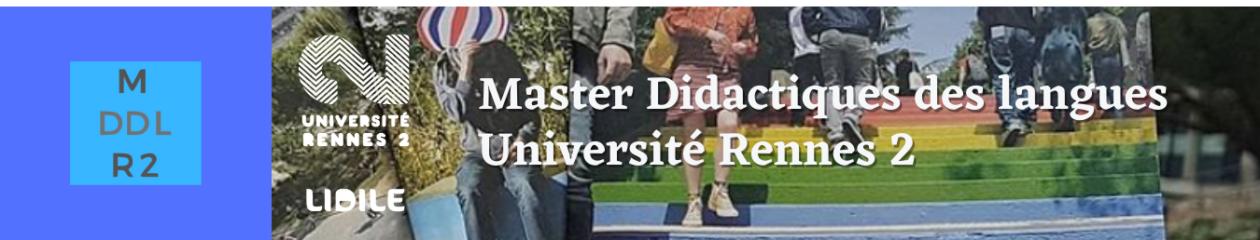Master « Didactique des langues » Rennes 2